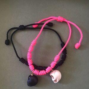 Skull Bracelet Set
